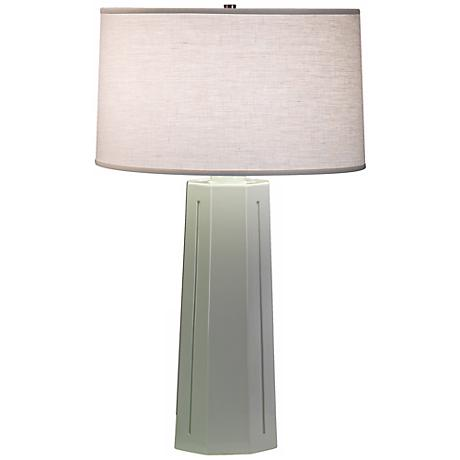 "Robert Abbey Mason Celadon 26"" High Table Lamp"