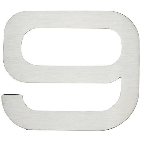Paragon Collection Stainless Steel House Number 9