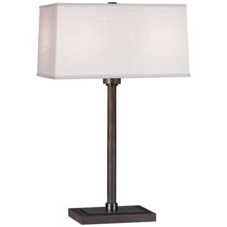 "Robert Abbey Adaire Ebony Bronze 21 1/4"" High Table Lamp"
