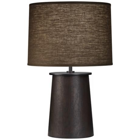 "Robert Abbey Adaire Ebony Truffle 19 1/2"" High Accent Lamp"