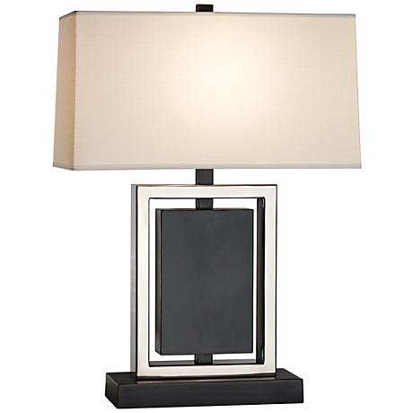 "Robert Abbey Crispin Bronze 25"" High Table Lamp"