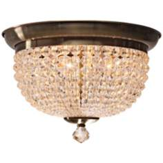 "Crystorama Newbury Collection 15"" Wide Ceiling Light"