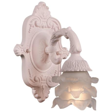 "Crystorama Avignon Collection Blush 9"" High Wall Sconce"