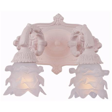 "Crystorama Avignon Collection Blush 7 1/2"" High Wall Sconce"