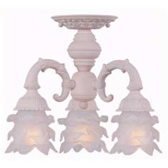 "Crystorama Avignon Collection Blush 13"" Wide Ceiling Light"
