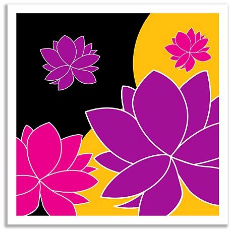 Lotus Float Wall Art