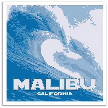 Malibu Wave Wall Art