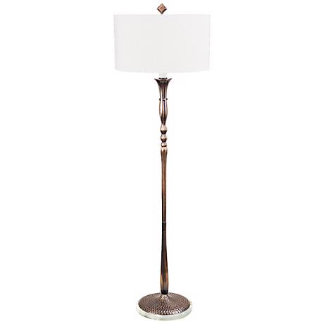 Frederick Cooper Alaine Antique Copper Floor Lamp