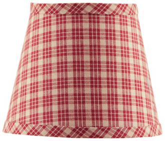 A'Homestead Shoppe Plaid Lamp Shade