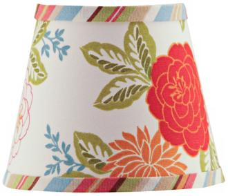 A'Homestead Shoppe Floral Lamp Shade