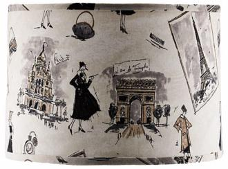 A'Homestead Shoppe Parisian Lamp Shade