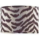 Black and Tan Zebra Shade 14x14x11 (Spider)