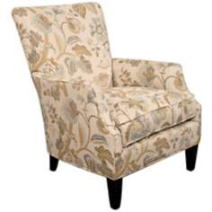 Marie Floral Occasional Chair