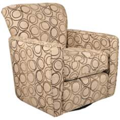 Virginia Beach Swivel Occasional Chair