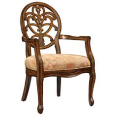 Valencia Golden Autumn Accent Chair