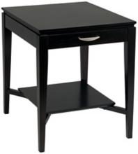 Studio I Espresso Finish Rectangular End Table