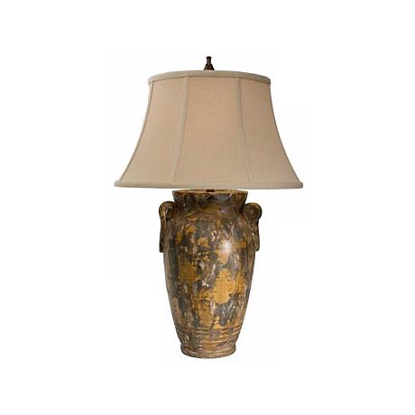 Natural Light Andalusia Ceramic Table Lamp