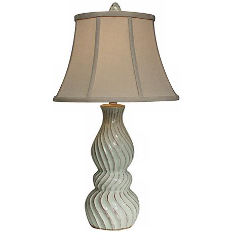 Natural Light Baltic Gourd Ceramic Table Lamp