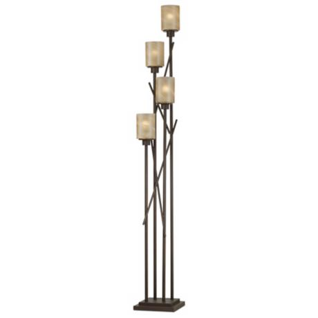 Kathy Ireland City Crossings Uplight Floor Lamp