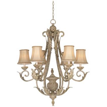 "Kathy Ireland Giverny 36"" Wide Chandelier Lamps Plus"