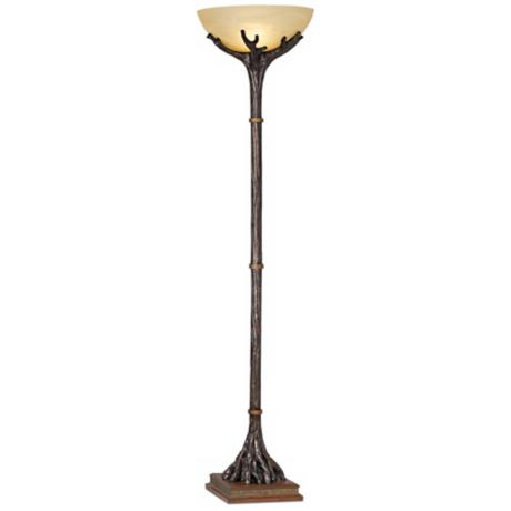 Montana Reflections Torchiere Floor Lamp