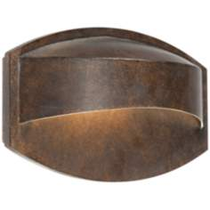 "Possini Euro Xane Bronze Dark Sky 11"" Wide Wall Sconce"