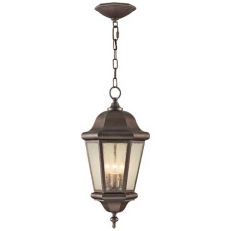 "Murray Feiss Martinsville 21"" High Outdoor Hanging Lantern"