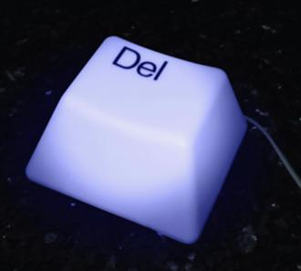 Delete Key Accent Light