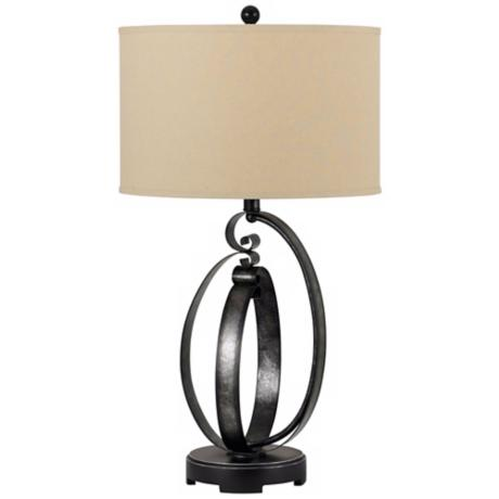 Veneto Forged Iron Table Lamp