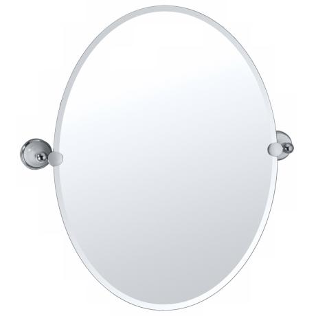 "Gatco Franciscan 26 1/2"" High Tilting Wall Mirror"