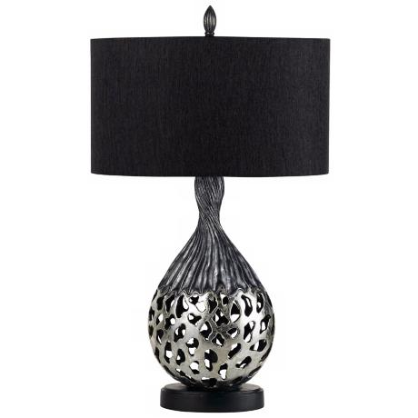 Tortona Silver Finish Table Lamp