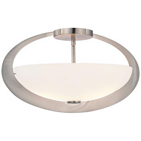 "George Kovacs Earring Collection 18"" Wide Ceiling Light"