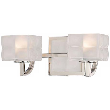 "George Kovacs Squared 12 1/4"" Wide Bathroom Wall Light"
