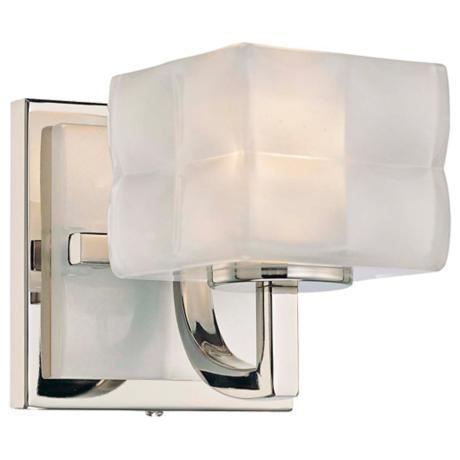 "George Kovacs Squared 4 3/4"" High Wall Sconce"