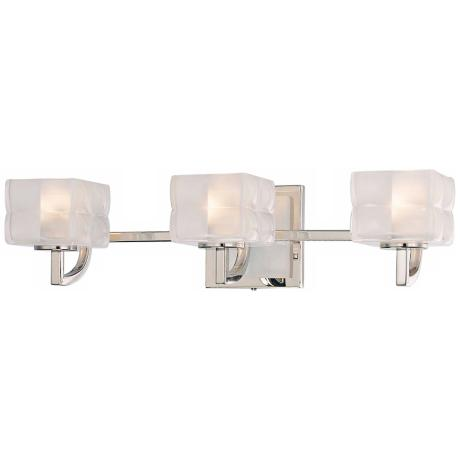 "George Kovacs Squared 21 1/2"" Wide Bathroom Wall Light"