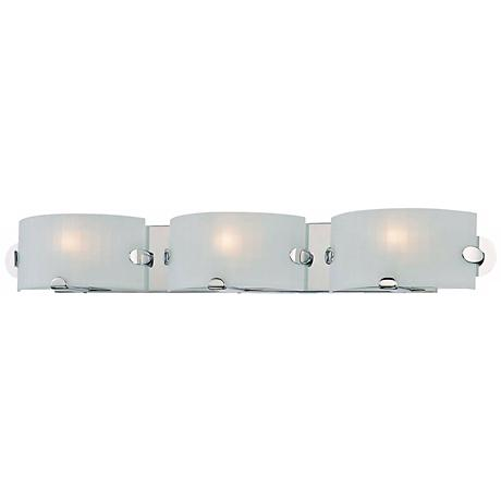"George Kovacs Pillow 32"" Wide Bathroom Wall Light"