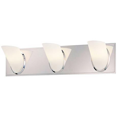 "George Kovacs Angle 21"" Wide Bathroom Wall Light"