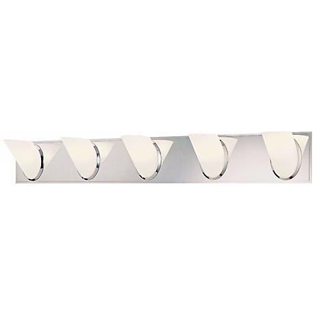 "George Kovacs Angle 36 3/4"" Wide Bathroom Wall Light"