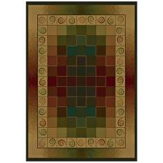 North Sky Collection Collage Area Rug