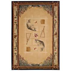 North Sky Collection Bass Cove Natural Area Rug