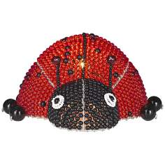 Beadworx Lady Bug Hand-Crafted Beaded Night Light