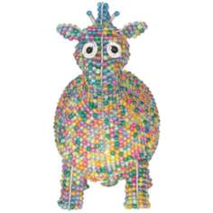 Beadworx Giraffe Hand-Crafted Beaded Night Light