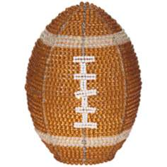 Beadworx Football Hand-Crafted Beaded Night Light