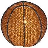 Beadworx Basketball Hand-Crafted Beaded Night Light