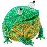 Beadworx Frog Hand-Crafted Beaded Night Light
