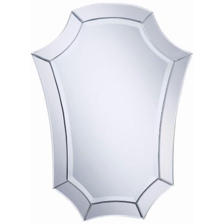 "Nouveau Shield 32"" High Wall Mirror"