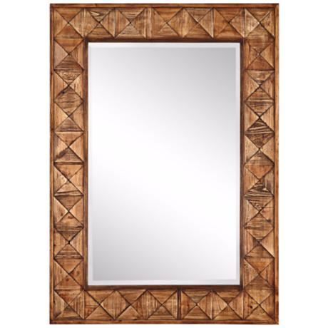 "Windswept Artisan 42"" High Wall Mirror"