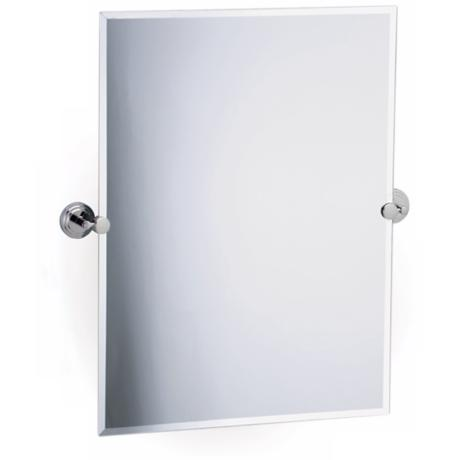 "Gatco Marina Polished Chrome 31 1/2"" High Wall Mirror"