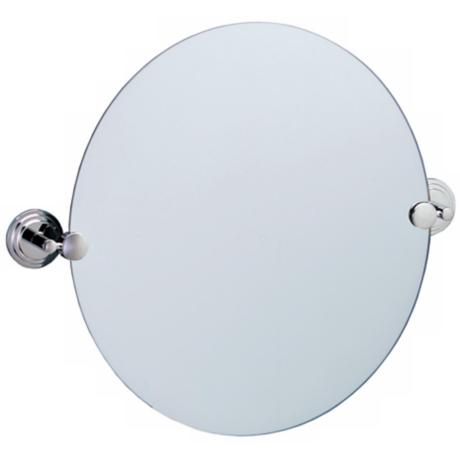 "Gatco Marina Chrome Finish 23 1/2"" Wide Tilt Wall Mirror"