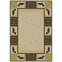 North Sky Collection Duck Pond Natural Area Rug